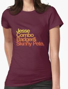 Jesse's Crew. Womens Fitted T-Shirt