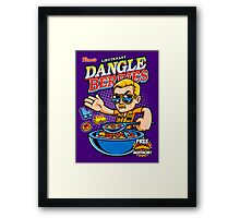 Dangle Berries Framed Print