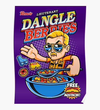Dangle Berries Poster