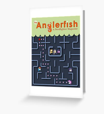 The Anglerfish Issue 4 - My Little Pac Man Greeting Card