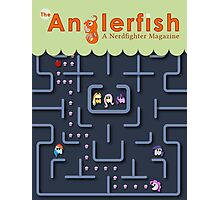 The Anglerfish Issue 4 - My Little Pac Man Photographic Print