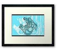 Lost Robot Framed Print