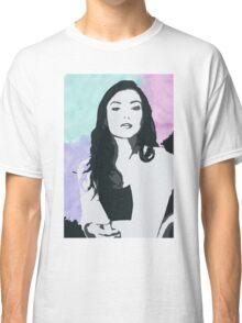 Natasha Negovanlis Watercolour Background Classic T-Shirt