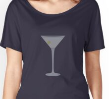 Martini Beige Women's Relaxed Fit T-Shirt
