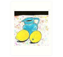 free lemons 1 Art Print