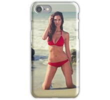 Hotness on the Sand iPhone Case/Skin