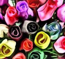 flowers forever  Sticker