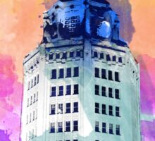 Buffalo Electric Tower Sticker