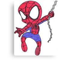 Chibi Spider-Man Canvas Print