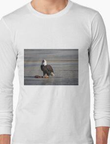 I see you wild bald eagle Long Sleeve T-Shirt