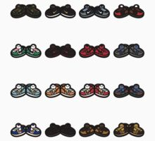 Part 1 of 2 2003 Nike SB Dunk Collection in BAPE Style by dvdcartoonz