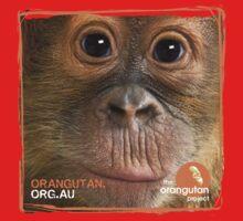 Orangutan Eyes - Windows to their Soul Kids Tee
