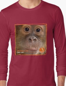Orangutan Eyes - Windows to their Soul Long Sleeve T-Shirt