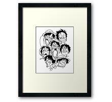You Rubber Monkey Framed Print