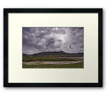 Denali Storm Framed Print