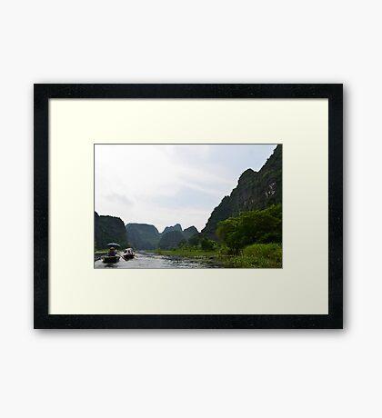 Nature's cradle! Framed Print