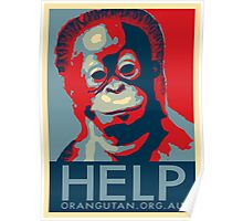 HELP - Give Hope Poster