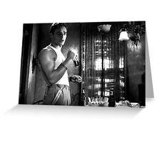 Marlon Brando @ A Streetcar Named Desire Greeting Card