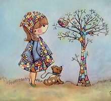 The Patchwork Tree by © Cassidy (Karin) Taylor