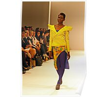 2013 FAD Junior Awards. A model wears a design by Gloria Lyare Poster