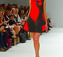 2013 FAD Junior Awards. A model wears a design by  Rebecca George by Keith Larby