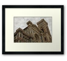 Basilica Santa Maria del Fiore, Florence, Italy Framed Print