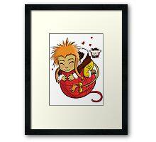 Chibi Leo Framed Print