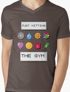 Pokemon hitting the gym Mens V-Neck T-Shirt