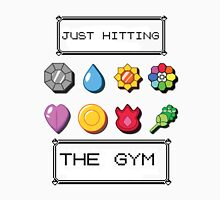Pokemon hitting the gym T-Shirt