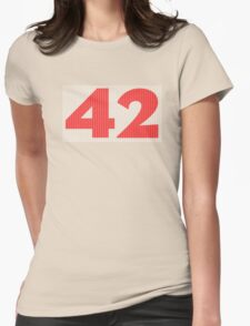 The Number 42 (red) T-Shirt