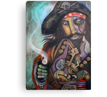 Captain Barbosa Canvas Print