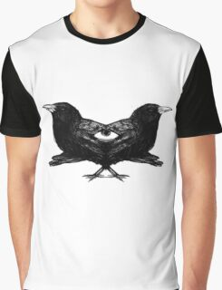 Raven Game Of Thrones Graphic T-Shirt
