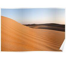 Thar Desert Sand Dunes Poster