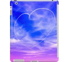 Heart in the clouds iPad Case/Skin