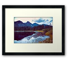 Cold November Framed Print