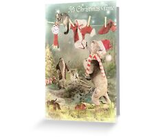 Santa's Little Helpers Greeting Card