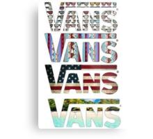 VANS Metal Print
