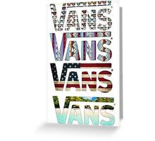 VANS Greeting Card
