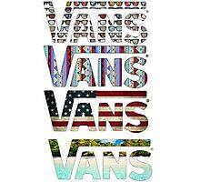 VANS Photographic Print
