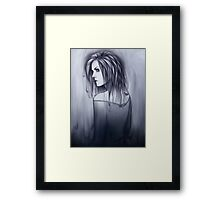 Flowing Ink Framed Print