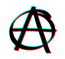 Anarchy in 3D Photographic Print