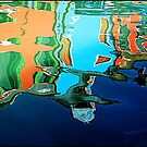 Burano Reflection by Robyn Carter
