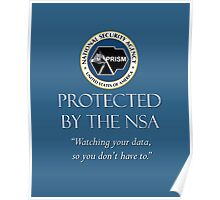 Protected by the NSA Poster