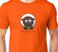Eid Mubarak with sheep t shirt Unisex T-Shirt