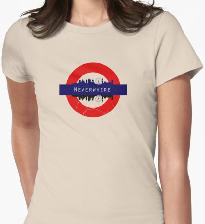 Neverwhere Womens Fitted T-Shirt