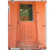 Orange Door iPad iPad Case/Skin