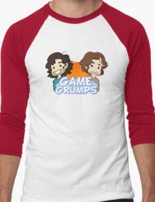 Game Grumps- Chibi Logo Men's Baseball ¾ T-Shirt