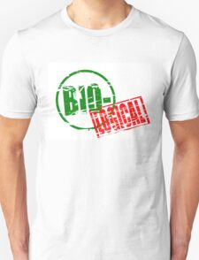 Biological rubber stamp effect T-Shirt