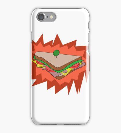 RED Sandvich iPhone Case/Skin