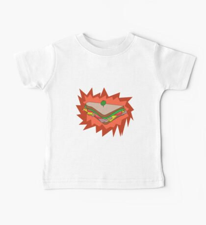 RED Sandvich Baby Tee